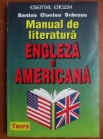 Anticariat: Andrei Bantas - Manual de literatura engleza si americana