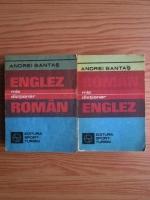 Anticariat: Andrei Bantas - Mic dictionar englez-roman (2 volume)