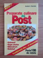 Anticariat: Andrei I. Daniela - Preparate culinare de post