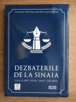 Andrei Marga - Dezbaterile de la Sinaia