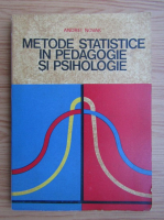 andrei novak - Metode statistice in pedagogie si psihologie