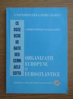 Andrei Popescu - Organizatii europene si euroatlantice