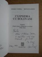 Anticariat: Andrei Voinea - Clepsidra cu bolovani (cu autograful autorului)
