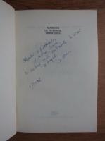 Anticariat: Andrei Voinea, Corneliu Zaharia - Elemente e chirurgie ortopedica (cu autograful autorului)