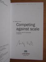 Anticariat: Andrej Vizjak - Competing against scale