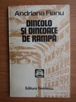 Anticariat: Andriana Fianu - Dincolo si dincoace de rampa