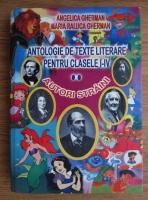 Anticariat: Angelica Gherman - Antologie de texte literare pentru clasele I-IV. Volumul II: Autori straini
