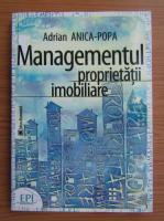 Anticariat: Anica Popa - Managementul proprietatii imobiliare