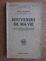 Anticariat: Anna Viroubova - Souvenirs de ma vie (1927)