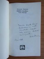 Anticariat: Antoaneta Tanasescu - Destin teatral.  Aurel Baranga (cu autorgraful autorului)