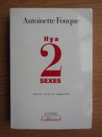 Anticariat: Antoinette Fouque - Il y a 2 sexes
