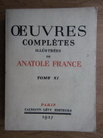 Antole France - Oeuvres completes illustrees (volumul 11, 1927)
