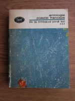 Anticariat: Antologia poeziei franceze de la Rimbaud pina azi (volumul 3)