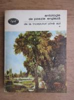 Anticariat: Antologie de poezie engleza. De la inceputuri pana azi (volumul 1)