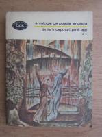 Anticariat: Antologie de poezie engleza. De la inceputuri pana azi (volumul 2)