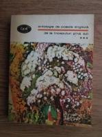 Anticariat: Antologie de poezie engleza de la inceputuri pina azi (volumul 3)