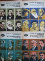 Anticariat: Antologie de proza scurta romaneasca de la Constantin Negruzzi la Pavel Dan (4 volume)