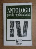 Anticariat: Antologii. Poezia romana clasica