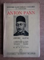 Anticariat: Anton Pann - Opere alese (volumul 2, 1941)