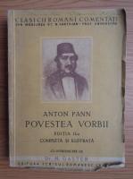 Anton Pann - Povestea vorbii (1933)