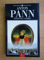 Anticariat: Anton Pann - Povestea vorbii