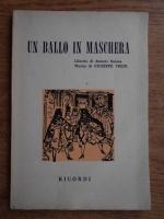 Anticariat: Antonio Somma - Un ballo in maschera