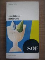 Anticariat: Ardengo Soffici - Meditatii artistice