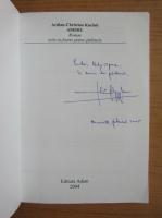 Anticariat: Ardian Christian Kuciuk - Asediu (cu autograful autorului)