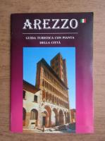 Anticariat: Arezzo, guida turistica con pianta della citta