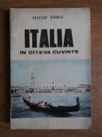 Anticariat: Aristide Buhoiu - Italia in cateva cuvinte
