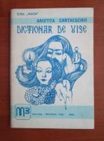 Aristita Cantacuzino - Dictionar de vise