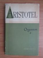 Aristotel - Organon. Despre interpretari (volumul 1)
