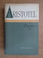 Aristotel - Organon (volumul 4)