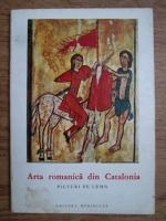 Arta romanica din Catalonia. Picturi de lemn
