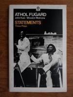 Anticariat: Athol Fugard - Statements. Three plays