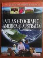 Atlas Geografic America si Australia