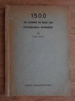 Atusi Naono - 1500 de cuvinte de baza in vocabularul romanesc
