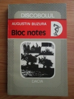 Anticariat: Augustin Buzura - Bloc notes