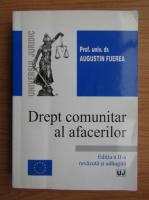 Anticariat: Augustin Fuerea - Drept comunitar al afacerilor