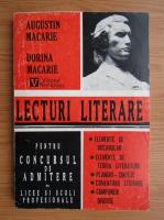Augustin Macarie - Lecturi literare pentru concursul de admitere in licee si scoli profesionale