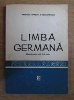 Aurelia Calugarita - Limba germana. Manual pentru anul II de studiu
