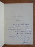 Aurelian Titu Dumitrescu - Iubire de pietrat (cu autograful si dedicatia autorului)