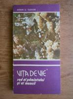 Anticariat: Avram D. Tudosie - Vita de vie. Rod al pamantului si al muncii