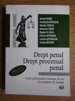 Avram Filipas - Drept penal, drept procesual penal