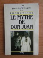 Anticariat: Axel Preiss - Tehmatique. Le mythe de Don Juan