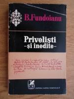 B. Fundoianu - Privelisti-Si inedite-