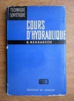 Anticariat: B. Nekrassov - Cours d'hydraulique