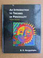 Anticariat: B. R. Hergenhahn - An introduction to theories of personality