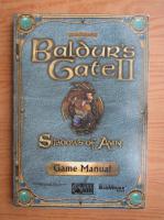Anticariat: Baldur's Gate II. Shadows of Amn. Game manual