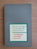 Anticariat: Barbu B. Berceanu - Prezentarea lucrarilor stiintifice